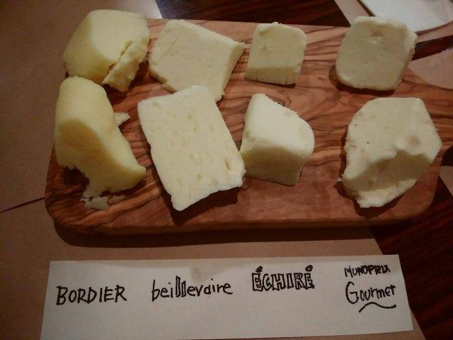 フランスバター食べくらべ