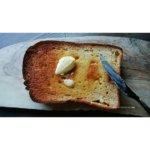 低糖質食パンでトースト