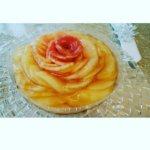 薔薇の桃タルトレッスン