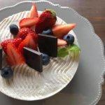 低糖質ケーキレッスン・抹茶のフレジェ