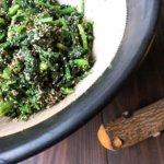 緑を食べる