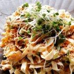 干豆腐のサラダ
