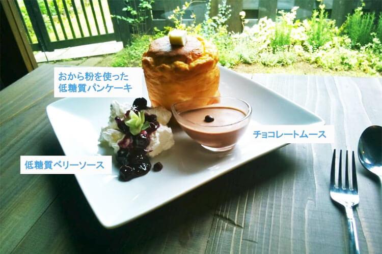 ローカーボ・タワースフレパンケーキ